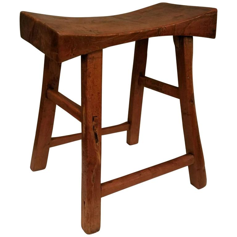 Antique chinese ming style hardwood stool at 1stdibs for Antique chinese furniture styles