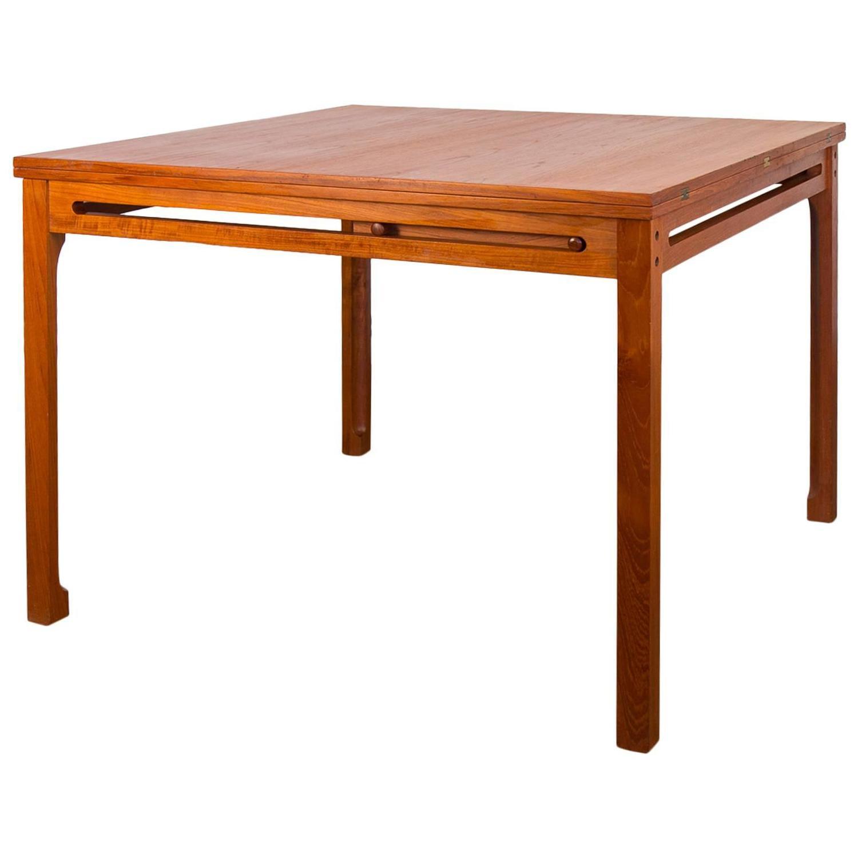 b rge mogensen flip top dining table for sale at 1stdibs. Black Bedroom Furniture Sets. Home Design Ideas