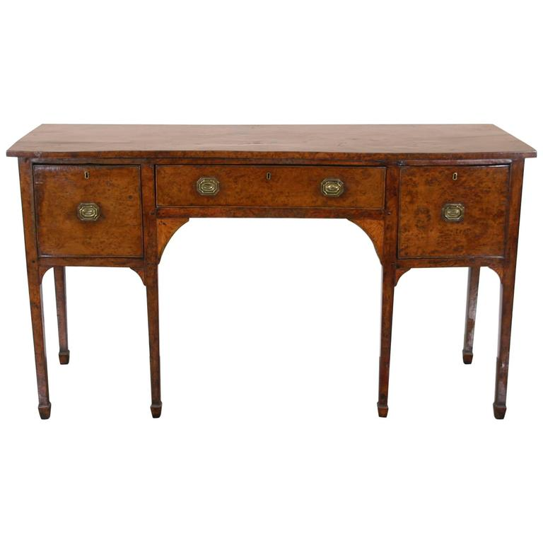 Late 18th Century Yew Wood Sideboard