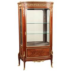 Fine Late 19th Century Gilt Bronze Vitrine by François Linke