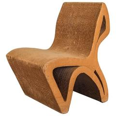 Vintage Corrugated Cardboard Chair
