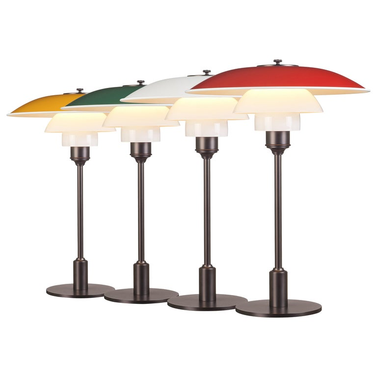 Poul Henningsen PH 3½-2½ Table Lamps for Louis Poulsen For Sale