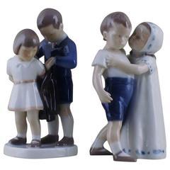 Two B & G 'Bing & Grondahl' Figures of Children