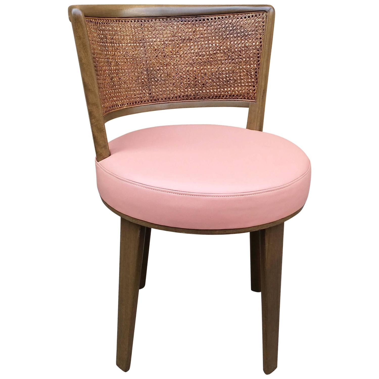 Swivel Vanity Chair By Edward Wormley For Dunbar For Sale At 1stdibs