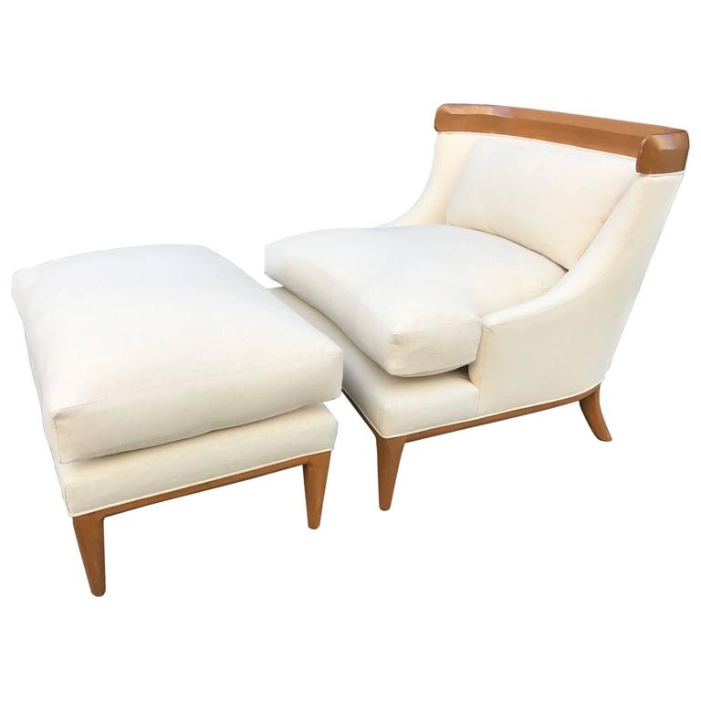 Lounge Chair and Ottoman by Erwin Lambeth