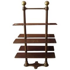 French Five-Rack End Stand