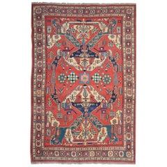 Antique Rugs, Persian Rugs, Sumakh Kilim Rugs, Carpet from Iran