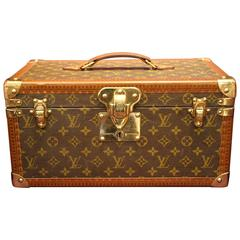 1980s Large Louis Vuitton Train Case
