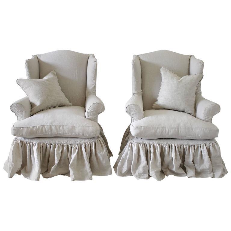 Wingback Sofa Slipcovers - Perfect Slipcovers - make your ...