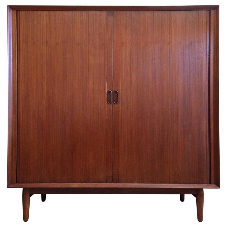 Danish Modern Highboy Dresser by Arne Vodder for Sibast Mobler