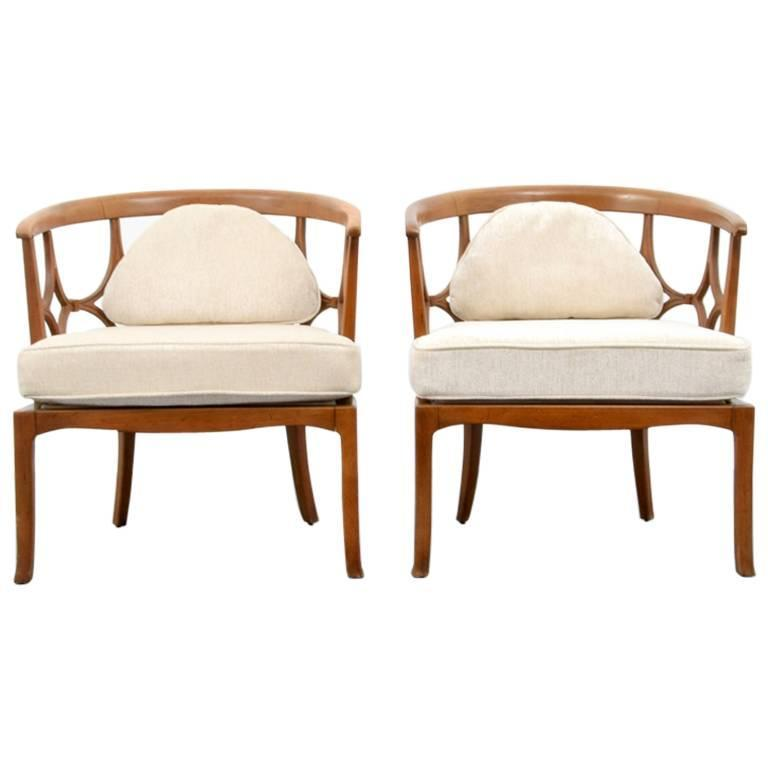 pair of william billy haines lounge chairs 1960s usa at 1stdibs rh 1stdibs com billy haines slipper chairs Billy Haines Lounge Chair