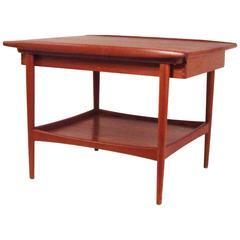 Mid-Century Danish Modern Teak Side Table for Moreddi