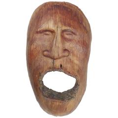 Wood Mask by Bob Haozous