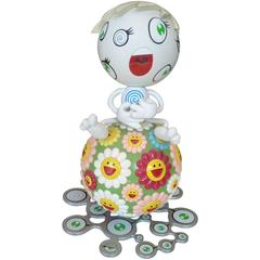 "Takashi Murakami ""Mr Wink"" Cosmos Ball, Peter Norton Project, Plastic"