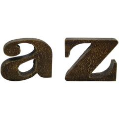 Curtis Jere A to Z Bookends
