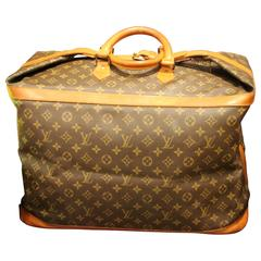 Large Collector's Louis Vuitton Travel Bag 50 in Monogramm Canvas