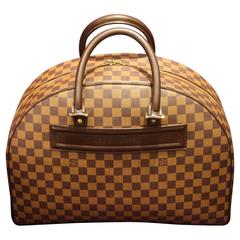 Oversized Collector's Louis Vuitton Travel Bag, Damier Pattern