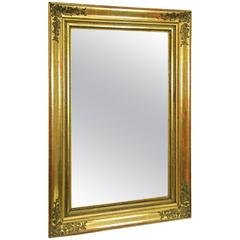 19th Century Big Classicism Gilt Mirror, Austria