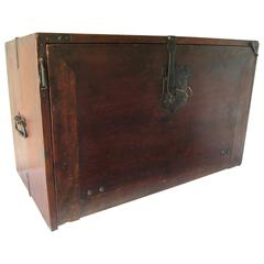 """End of 16th Century Walnut Spanish Bargueño """"Writting Cabinet"""" with Drawers"""