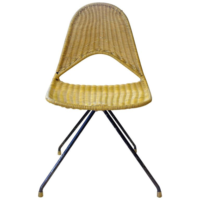 """Rare """"du68"""" chair by Gastone Rinaldi for Rima"""