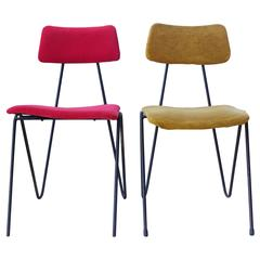 "Extremely Rare Chairs Produced by ""Fratelli Saporiti"" from the 1950s"