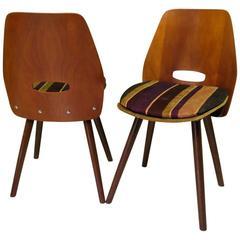 Four Designer Chairs by Vittorio Nobili