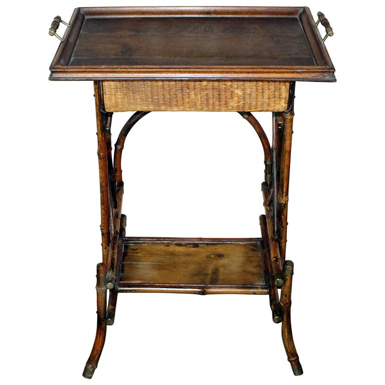 Antique British Colonial Cocktail Table For Sale At 1stdibs