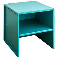 Stool #43 by Donald Judd in Turkish Blue