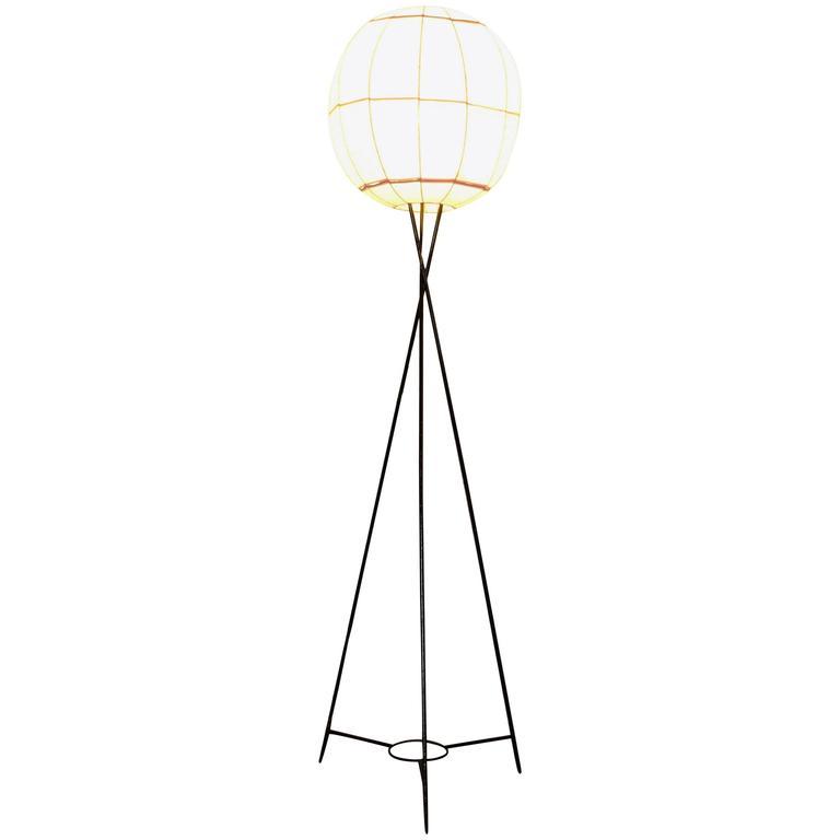 Italian Floor Lamp in Style of Isamu Noguchi