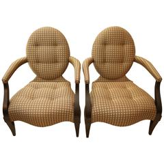 Set Of Eight Anziano Chairs By Donghia At 1stdibs
