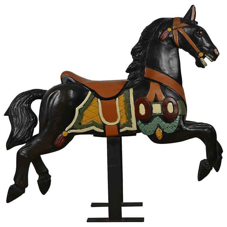 Lovely Wooden Carousel Horse
