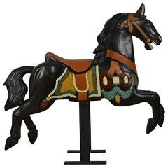 Lovely Wooden Carousel Horse