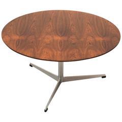 Brazilian Rosewood Coffee Table by Arne Jacobsen, circa 1960s