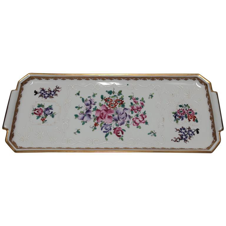 French Porcelain Platter or Serving Tray