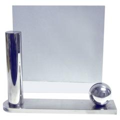 Richard Meier for Swid Powell Silver Plate Photo Frame
