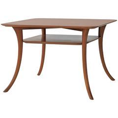 T.H. Robsjohn-Gibbings Saber Leg Lamp Table