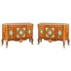 Pair of Commodes in the French Transitional Manner