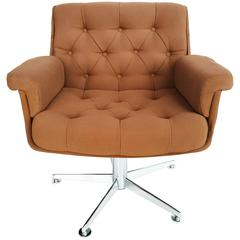Lounge Swivel Armchairs by Airborne, circa 1970