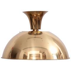 Rare Florian Schulz P65 Pendant Lamp in Brass