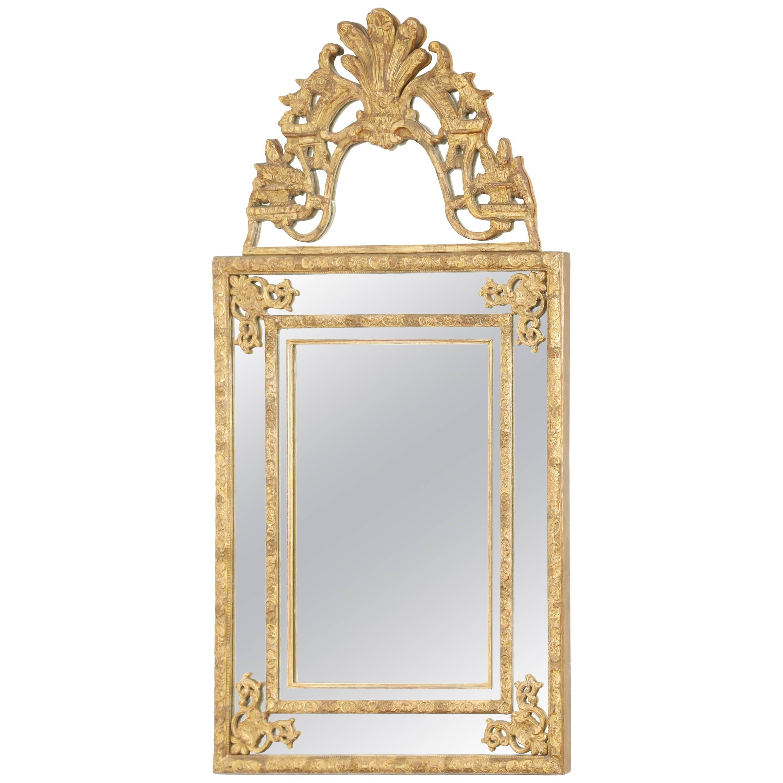 Regence Style Giltwood Mirror