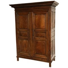 Late 18th Century Oak Armoire