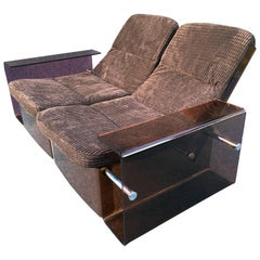 Two and Three-Seat Original Vintage Perspex 'Acrylic' Sofas