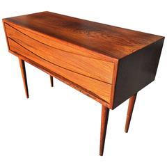 Arne Vodder Rosewood Two-Drawer Low Cabinet