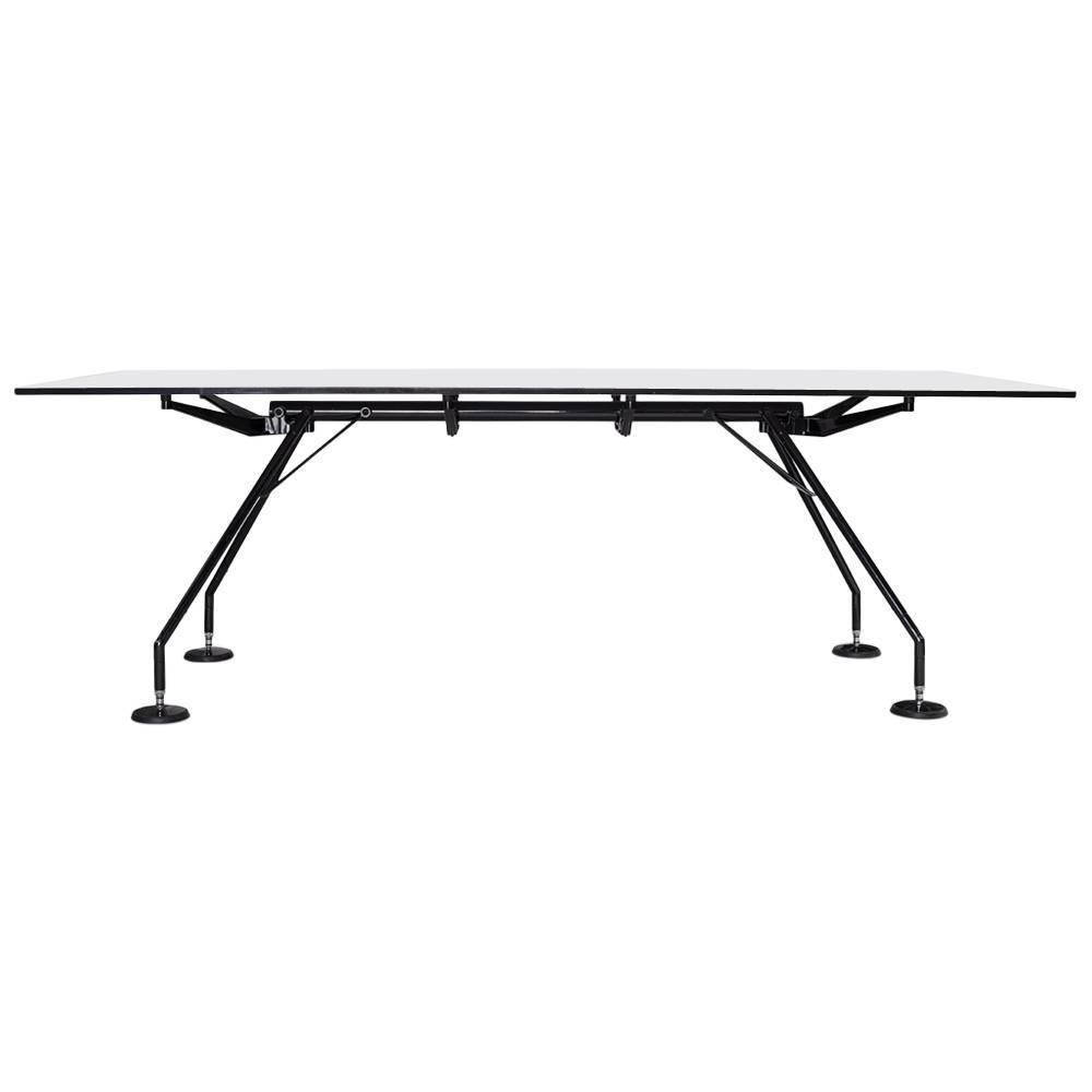 Nomos Desk By Sir Norman Foster For Tecno, Conference Table, Italy