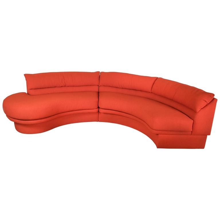 Vladimir Kagan for Directional Crescent Shaped Sectional