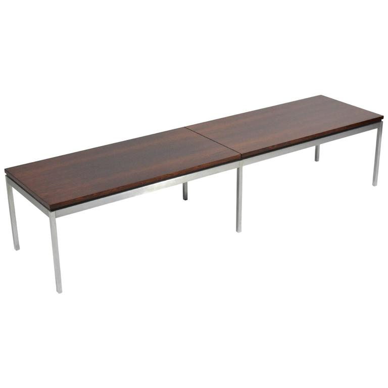 Florence Knoll Rosewood Table or Bench 1