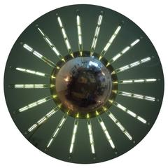 "Grand Flush ""Saturno"" Glass Ceiling Light"