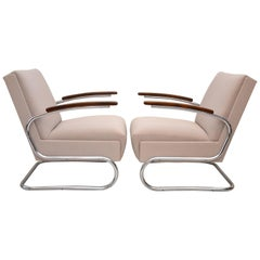 "Two Thonet Chairs ""Freeswinger"", 1932"