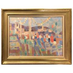 French Oil Painting, Bolin, circa 1920
