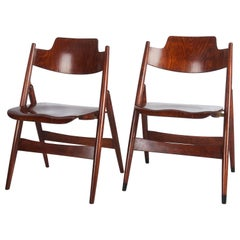 Mid-Century Folding Chair by Egon Eiermann